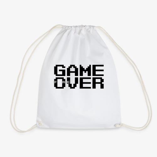 GAME fOreVER 2lines L FREtrans - Drawstring Bag