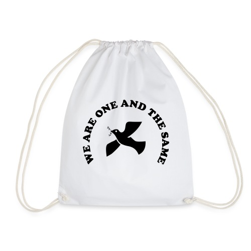 We are one and the same - Drawstring Bag