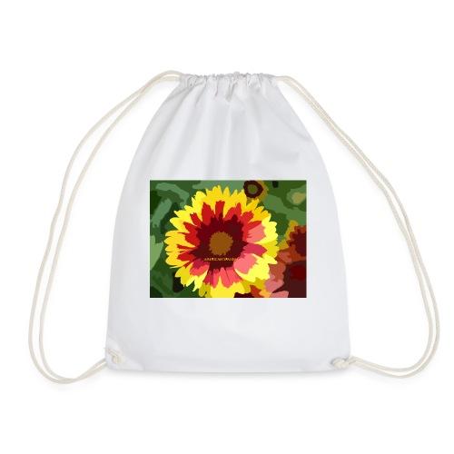 Flor - Mochila saco