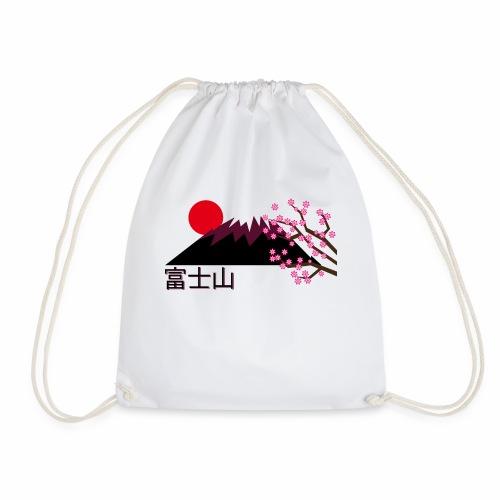 Mount Fuji, Japan - Drawstring Bag