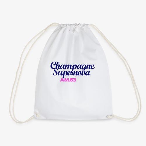 Champagne Supernova blau - Turnbeutel