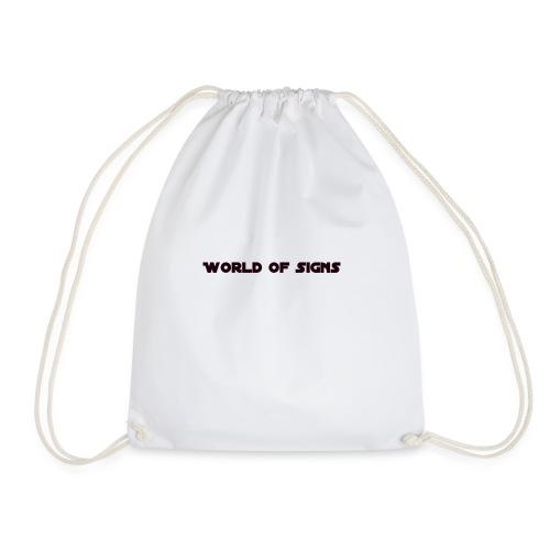 World of Signs - Drawstring Bag