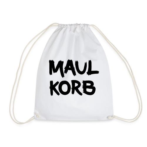 Maulkorb - Turnbeutel