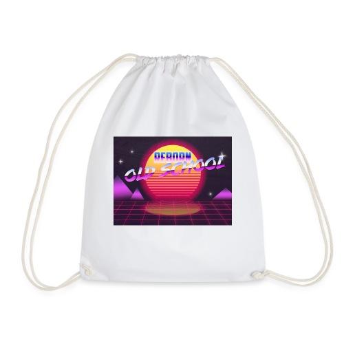 old school reborn - Drawstring Bag