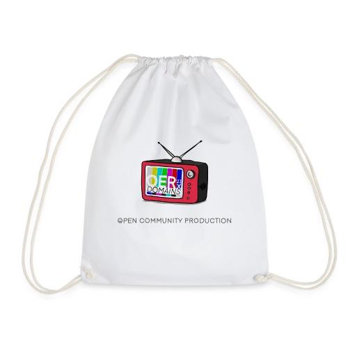 OERxDomains21 - Open Community Production - Drawstring Bag