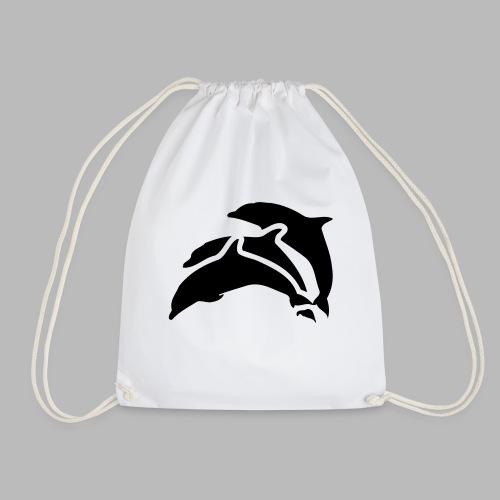 drei delfine - Turnbeutel