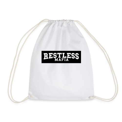 The Restless Mafia Box logo tee - Drawstring Bag
