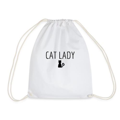 Tee shirt Cat Lady - Sac de sport léger