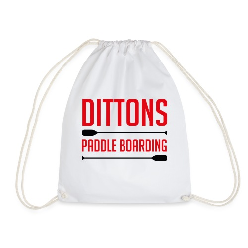 Dittons Paddle Boarding Logo - Drawstring Bag