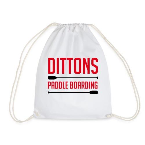 Dittons Paddle Boarding Logo - Drawstring Bag