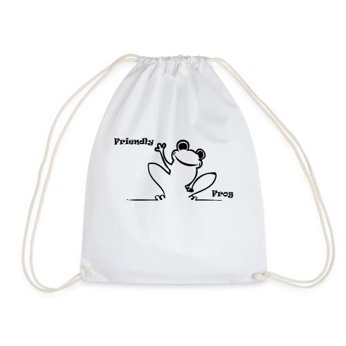 friendly_frog - Drawstring Bag
