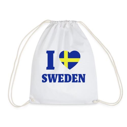 LoveSweden - Gymnastikpåse