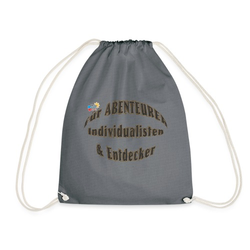 Abenteurer Individualisten & Entdecker - Turnbeutel