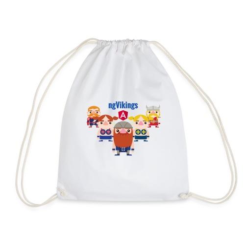 Viking Friends - Drawstring Bag