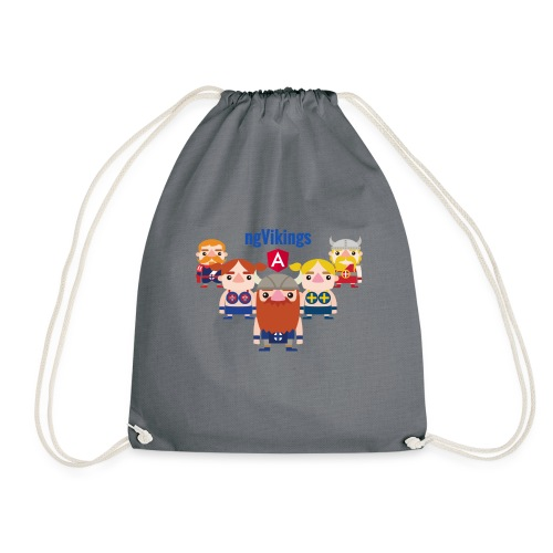 Viking Friends - Drawstring Bag