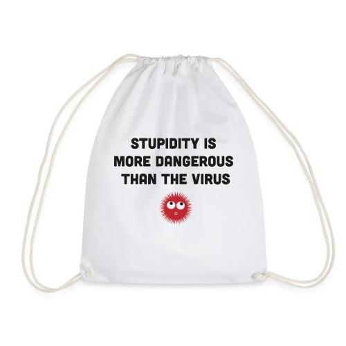 corona virus and stupidity - Sac de sport léger