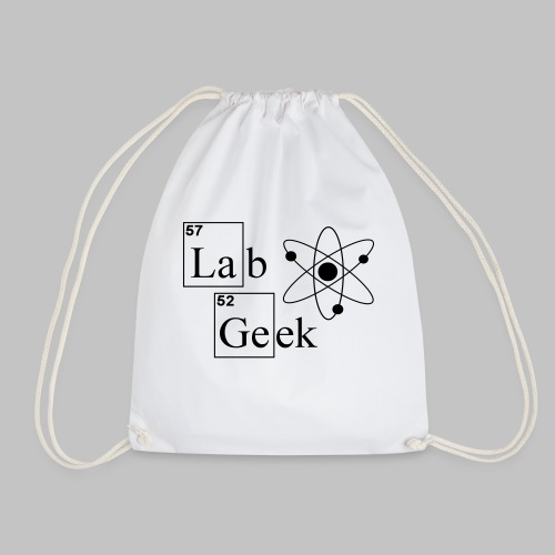Lab Geek Atom - Drawstring Bag