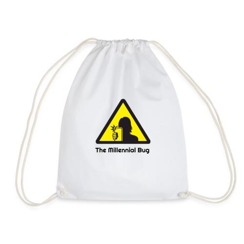 The Millennial Bug - Drawstring Bag