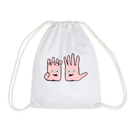 Winky Hands - Drawstring Bag