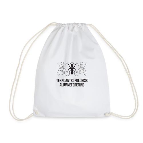 Teknoantropologisk Støtte T-shirt figur syet - Sportstaske