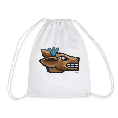 Aztec Icon Deer - Drawstring Bag