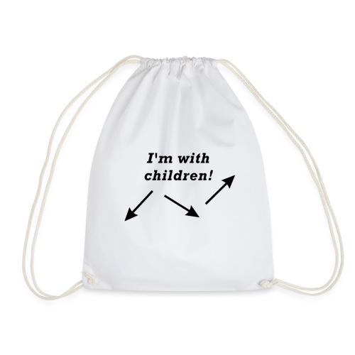 I'm with children! - Turnbeutel