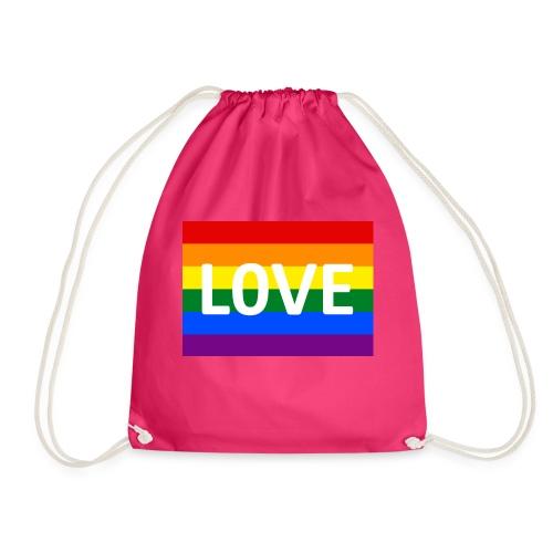 LOVE SHIRT - Sportstaske
