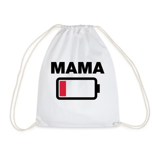 Batterij mama leeg - Gymtas