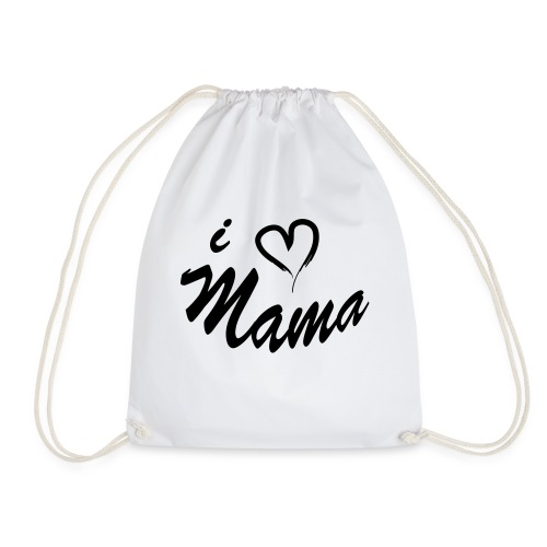 i love mama KIDS shirt - Gymtas