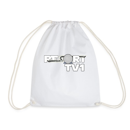 ResortTV1 Logo - Drawstring Bag