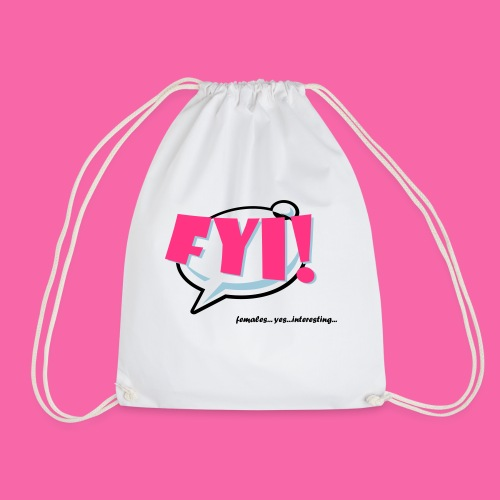 FYI ai - Drawstring Bag