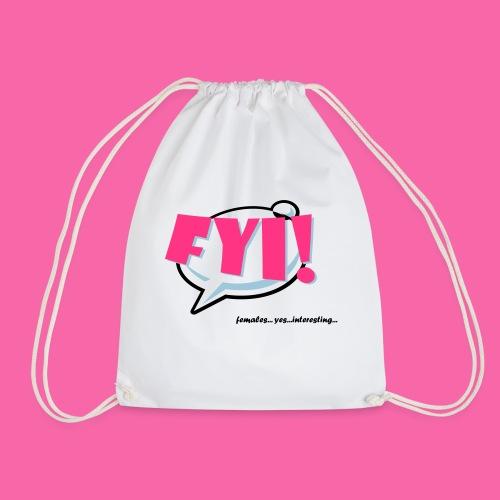 FYI ai - Drawstring Bag