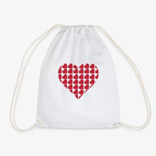 Cuoricini-love-valentine-day-heart - Sacca sportiva