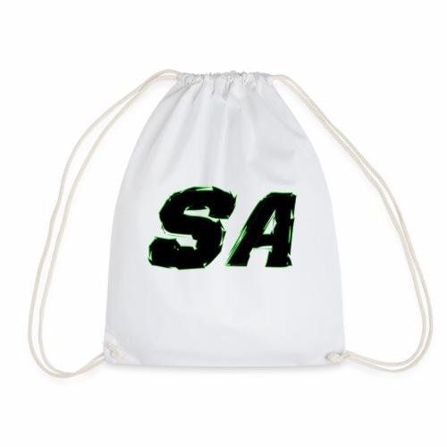Svart SA Logo - Gymnastikpåse