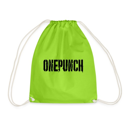 Boxing Boxing Martial Arts mma tshirt one punch - Drawstring Bag