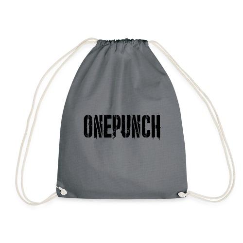 Boxing Boxing Martial Arts mma tshirt one punch - Drawstring Bag
