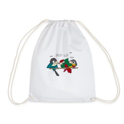 Feather Wars - Drawstring Bag