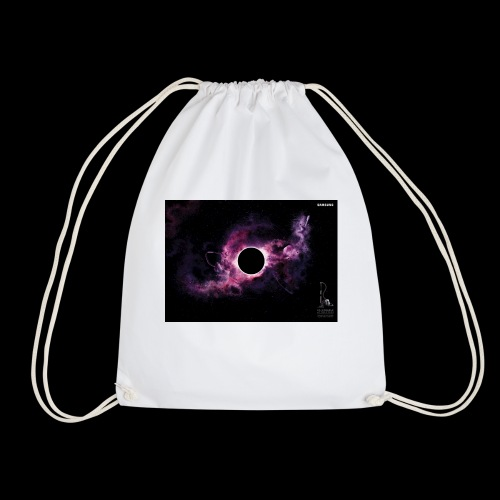 into darkness - Drawstring Bag