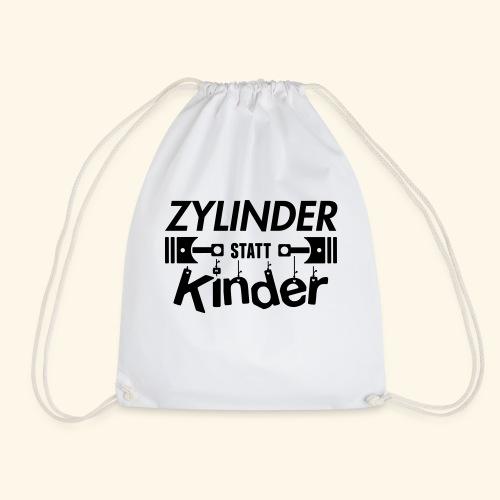Zylinder Statt Kinder - Turnbeutel