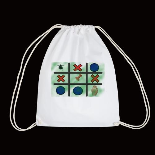 Tick, Tack, Toe (Joke Shirt) - Drawstring Bag