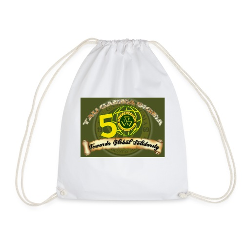 tau gamma - Drawstring Bag