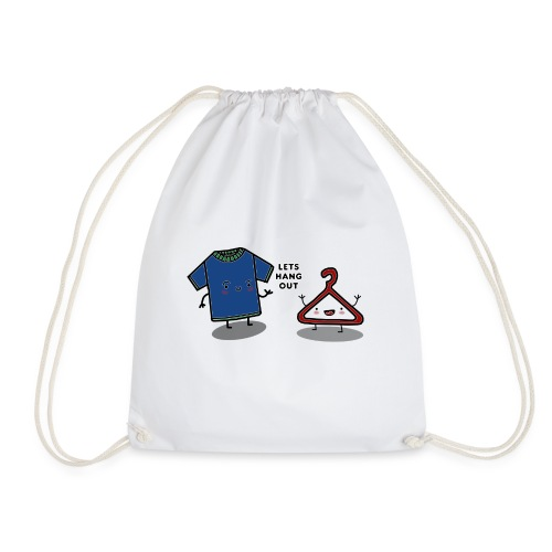 HANG OUT - Drawstring Bag