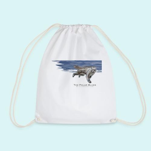 Polar-Blues-SpSh - Drawstring Bag