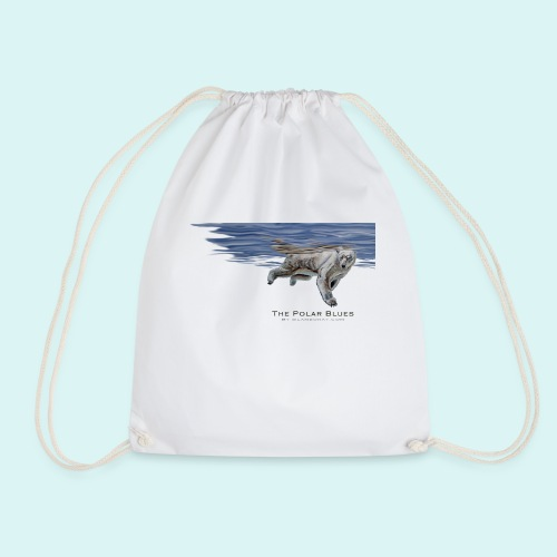 Polar-Blues-SpSh - Drawstring Bag