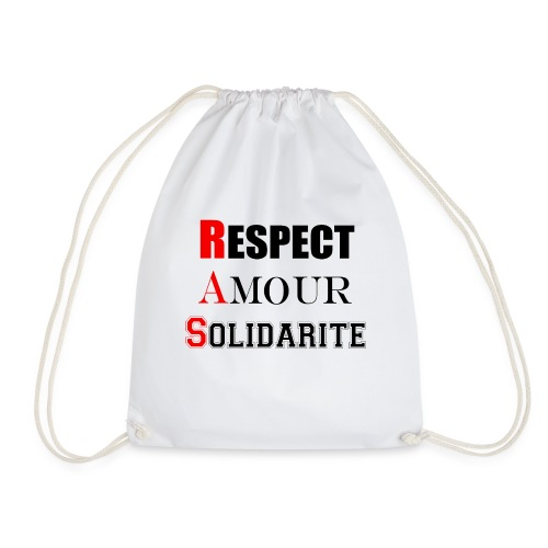 Respect Amour Solidarité - Sac de sport léger