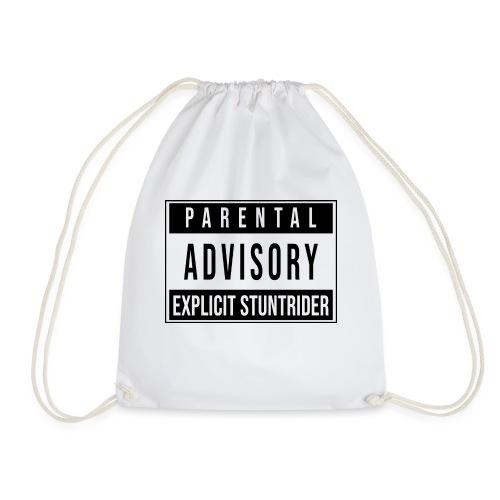 PARENTAL ADVISORY EXPLICIT STUNTRIDER - Sacca sportiva