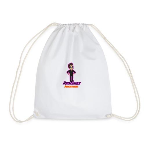 Retrosimile Adventure - Drawstring Bag
