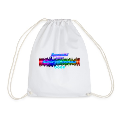 Anything is achievable - Drawstring Bag