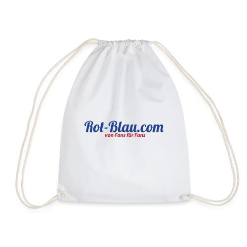 Rot-Blau.com Logo - Turnbeutel
