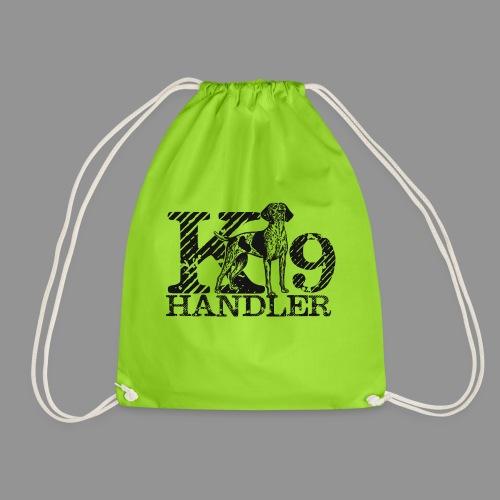 K-9 Handler - German Shorthaired Pointer - Drawstring Bag